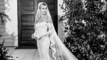 Hailey Bieber shares first look at stunning gown after second wedding
