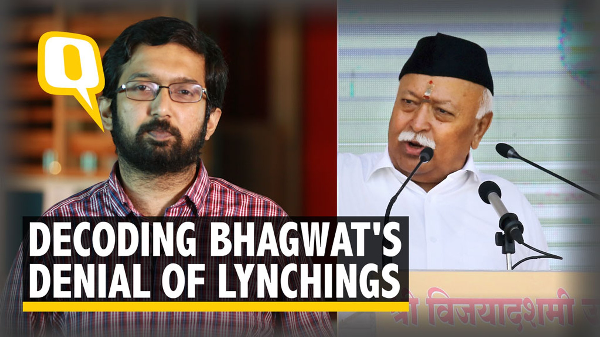 Why Mohan Bhagwat Denied Lynchings & Called it a Christian Concept