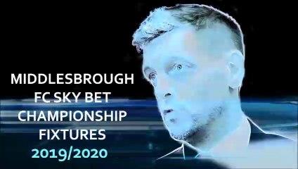 Middlesbrough FC's October fixtures