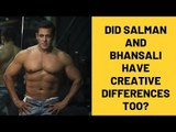 Did Sanjay Leela Bhansali And Salman Khan Have Creative Differences Over Inshallah?   SpotboyE
