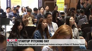Startups from Korea and Latin America seek further business exchanges at Korea-LAC Startup Pitching