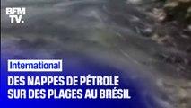 Brésil: de mystérieuses nappes de pétrole sur plus de cent plages
