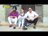 UNCUT- Akshay Kumar Shoots For His 1st Music Video Filhaal With Nupur Sanon And Ammy Virk | SpotboyE