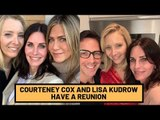 FRIENDS 25: Monica Courteney Cox And Phoebe Lisa Kudrow Have A Reunion | Hollywood | SpotboyE