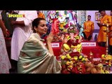 Kangana Ranaut visits Andhericha Raja for Ganpati Darshan | SpotboyE