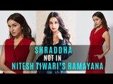 Shraddha Kapoor NOT In Nitesh Tiwari's Ramayana; Filmmaker Denies Approaching Her | SpotboyE