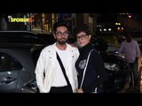 UNCUT- Ayushmann Khurrana, Tahira Kashyap, Nushrat Bharucha at Dream Girl Screening | SpotboyE