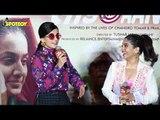 Taapsee Pannu, Bhumi Pednekar & Prakashi Tomar At The Trailer Launch Of 'Saand Ki Aankh' | SpotboyE