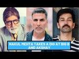 Nakuul Mehta Takes A Dig At Amitabh Bachchan And Akshay Kumar For Supporting Mumbai Metro | SpotboyE