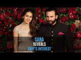 Sara Ali Khan Reveals Saif Ali Khan has interest in Roman History more than Bollywood Gossips