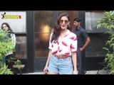 SPOTTED: Amyra Dastur At Pali Bhavan Cafe & Saif Ali Khan AT A Dubbing Studio In Bandra | SpotboyE