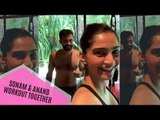 Sonam Kapoor And Hubby Anand Ahuja Work Out Together In Maldives | SpotboyE