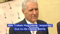 Alex Trebek Possibly Exiting 'Jeopardy'