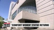 Japan's Aichi Triennale art festival reopens 'comfort women' exhibition