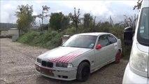 BMW E 36 COMPACT 318 - vive la glisse jurassienne - circuit jura sud  - pilote Bontoux Ludovic -vidéo lulu du jura