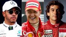Os pilotos com mais poles na história da Fórmula 1