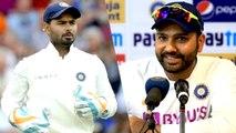 Ind vs SA: Rishabh Pant dropped from 2nd Test | Rohit Sharma Reveals reason