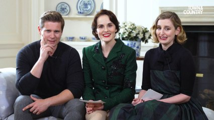 Downton Unscripted with Michelle Dockery, Laura Carmichael, and Allen Leech