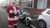 The 'real' Santa Claus is revealed in South Shields