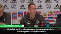 Ter Stegen disappointed not to face Messi