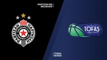 Partizan NIS Belgrade - Tofas Bursa Highlights | 7DAYS EuroCup, RS Round 2
