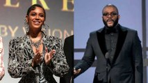 Beyoncé Gets Emotional At Tyler Perry's New Studios