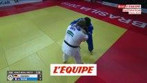 Julia Tolofua remporte le bronze chez les  78kg - Judo - Grand Chelem de Brasilia