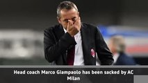 Giampaolo sacked by Milan with Pioli tipped to replace him