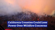 California Wildfires And Power Outages