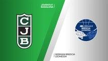 Joventut Badalona - Germani Leonessa Brescia Highlights | 7DAYS EuroCup, RS Round 2