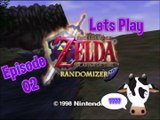 Lets Play - Legend of Zelda - Ocarina of Time Randomizer Cowsanity Edition - Episode 02 - Great Deku Tree