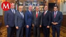 AMLO se reune con legisladores de EU por T-MEC