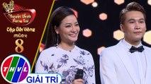 THVL | Tuyệt đỉnh song ca - CĐV 2019 | Tập 8[5]: LK Tóc mai sợi vắn sợi dài... - Trần Vũ, Thu Trang