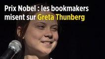 Prix Nobel : les bookmakers misent sur Greta Thunberg