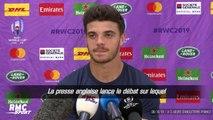 """Angleterre - France : """"Ça m'étonnerait que les Anglais lâchent ce match"""" assure Ntamack"""