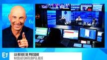 """Les fables de Gérard Collomb : """"Maître Macron sur son Élysée perché, tenait en son bec un Castaner"""" (Canteloup)"""