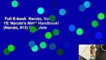Full E-book  Naruto, Vol. 15: Naruto's Ninja Handbook! (Naruto, #15) Complete