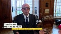 Incendie du site Seveso à Rouen : une longue enquête commence, 130 plaintes déposées