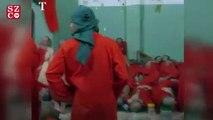Trump'ın bize yük oluyor dediği IŞİD'li mahkumlar görüntülendi