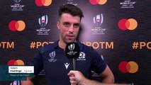 Adam Hastings wins Player of the Match for Scotland