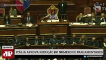 Itália aprova redução do número de parlamentares