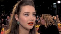 Katherine Langford 'learnt so much' from the cast of Knives Out