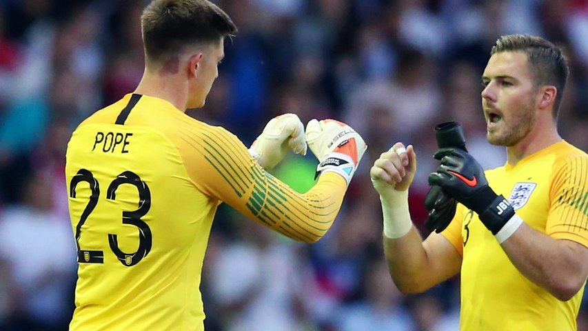 Burnley and England keeper Nick Pope previews European Qualifiers trips