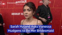 Vanessa Hudgens Will Be At Sarah Hyland's Wedding