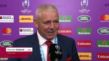 Warren Gatland on Wales' win over Fiji