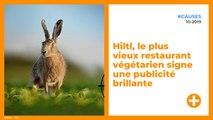 Hiltl, le plus vieux restaurant végétarien signe une publicité brillante