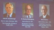 Battery makers win Nobel Chemistry Prize