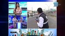 VIDEO   En la mañana, ciudadanos tomaron varias medidas para cruzar el puente de la Unidad Nacional