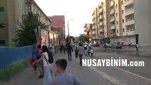 Kamışlı'dan atılan roketler Nusaybin'e isabet etti.