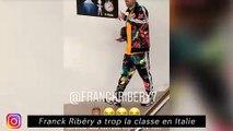 Franck Ribéry a trop la classe en Italie